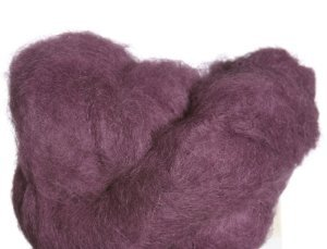 Yarn Alpaca Brushed - Blue Sky Alpacas Brushed Suri Yarn (912 Acai)