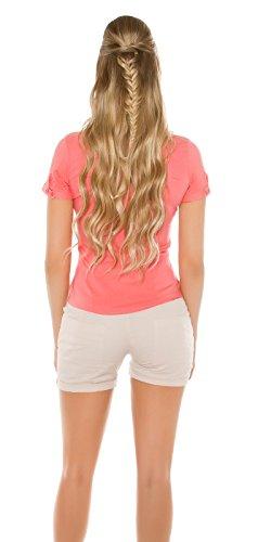 In-Stylefashion - Camisas - para mujer rojo claro