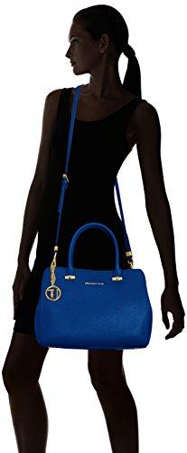 Trussardi 75b491xx53, Borsa a Mano Donna, 37x27x19 cm (W x H x L) Blu (Blue Royal)