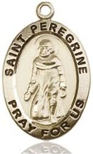 14ktゴールド聖Peregrine Medal