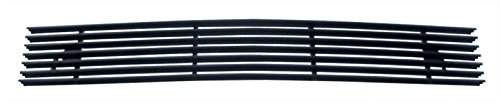 MaxMate 97-98 Ford Expedition/F150 4WD Lower Bumper 1PC Replacement Black Billet Grille Grill Insert (4wd Bumper Billet Grille)