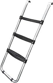 Cootway Trampoline Ladder, 3 Wide Skid-Proof Steps Universal Trampoline Ladder Accessories for Kids Children,