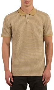 Volcom Hombres Camisa Polo - Beige - X-Small: Amazon.es: Ropa ...