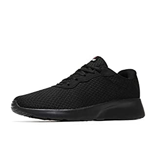 MAIITRIP Men's Running Shoes Sport Athletic Sneakers,Black,Size 11