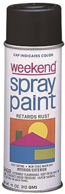 Weekend Spray Paint (11-Oz. All Purpose Almond Weekend Economy Paint)