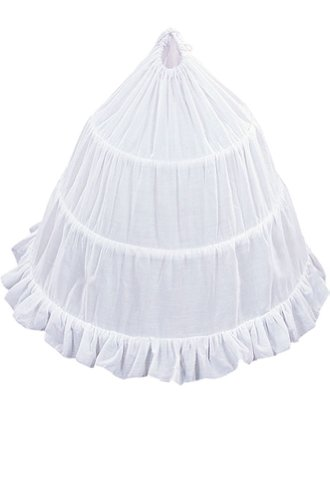 AMJ Dresses Inc Girls 3-hoop Flower Girl Petticoat Skirt 30'' by AMJ Dresses Inc