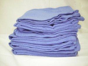 Blue Huck Towel - reclaimed - 10 lb. box