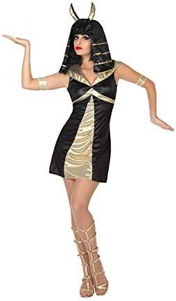 DISBACANAL Disfraz de egipcia Negro para Mujer - -, XS-S: Amazon ...