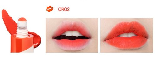 [peripera] Peri's Cushion Lips 8ml #OR02