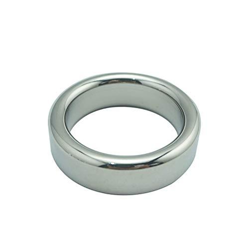 BCJSQ Top Quality Stainless Steel Metal C-ock Ring PêňísRing Sexxxs-Toys Adult Production,Day 50Mm Tshirt