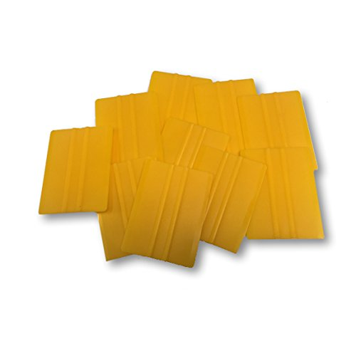 10 Pack Vinyl Application Tool Hard Squeegee 4