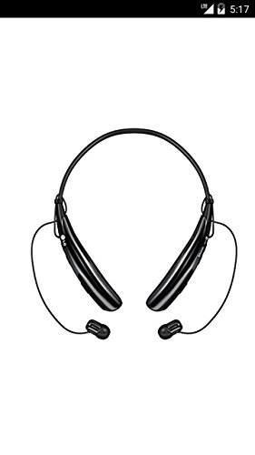 Lg Tone Pro Hbs-750 Wireless Bluetooth Stereo Headphones Black Hbs750 (Wireless Headphones Lg 730)