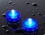 Led Bougie Submersible Vktech Lampe Waterproofbleue Étanche Blanc 20pcs tsdhxQBrC