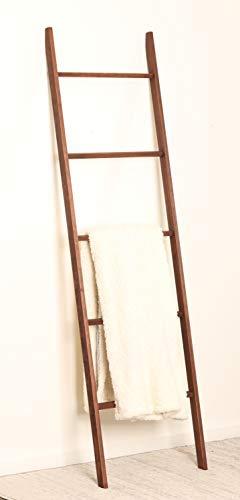 BrandtWorks, LLC 209L-SK Carrington Minimal Blanket Ladder, 20 x 72 x 2.5 (Solid Pine Blanket)