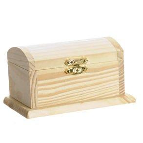 Wood Pirate Treasure Box, Health Care Stuffs