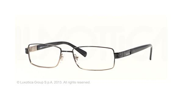 6273532edf4 Amazon.com  VERSACE 1064 Black 1137 Optical Frame Eyeglasses 53-16-135   Health   Personal Care