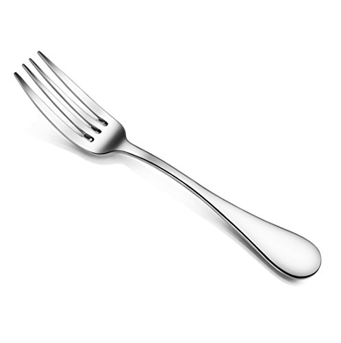 Artaste 59328 Rain 18/10 Stainless Steel Dinner Fork, 7.6-Inch, Set of 12