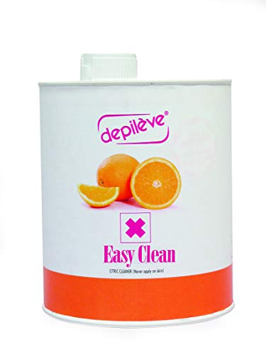 Depileve Easy Clean Citric Wax Cleaner for Warmers and Equipment, 35 Ounce (Depileve Milk Cleanser)