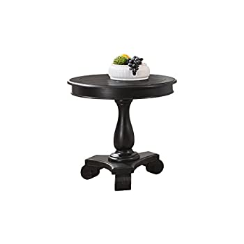 Image of Best Master Furniture Accent Table, Black Home and Kitchen