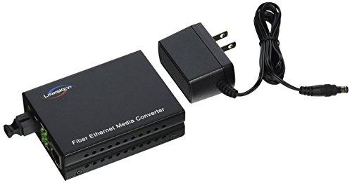 Singlemode Fiber Receiver - Linkskey 1000TX to 1000FX Single Fiber WDM Receiver Single-Mode SC Fiber Converter (LKS--FCS31C-R20)