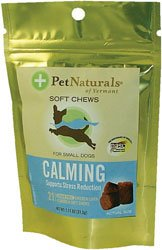 Pet Naturals Of Vermont Calming Treat For Small Dogs chicken liver flavor 21 Count