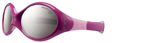 Julbo Looping III Toddler Sunglasses, Spectron 4 Baby, Plum/Pink Frame with Cord, 2-4 Years Color: Plum/Pink NewBorn, Kid, Child, Childern, Infant, Baby