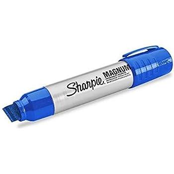 amazon com sharpie magnum permanent markers extra large chisel