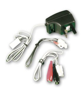 MOTORCYCLE MOPED BATTERY TRICKLE CHARGER BIKE TEK