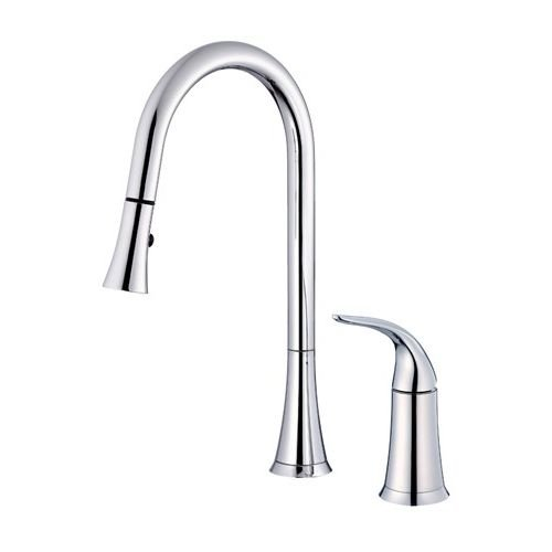 Danze Antioch Single Handle Pull Out Kitchen Faucet
