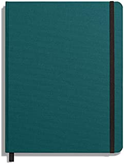 product image for Shinola Journal, HardLinen, Ruled, Dark Teal (7x9)