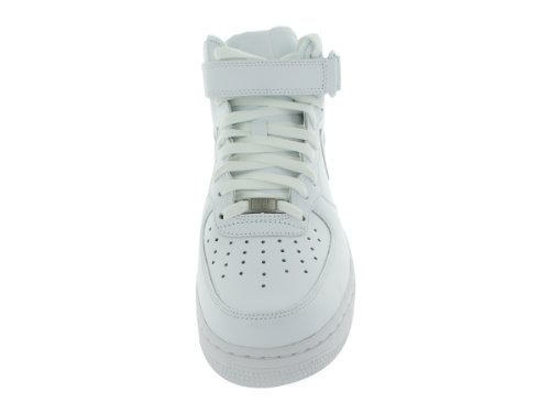 Nike Mens Air Force 1 Metà 07 Alto In Alto Bianco
