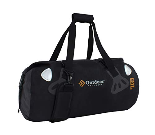 (Outdoor Products Weather Defense Rafter Duffle, 50-Liter, Black)