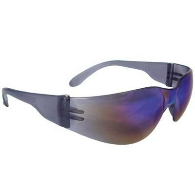 Radians Mirage Safety Glasses W/ Rainbow Mirror Lens by Radians