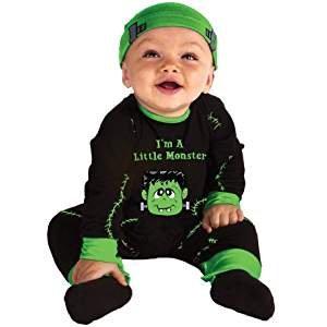Infant Lil' Monster Halloween Costume 0-6m