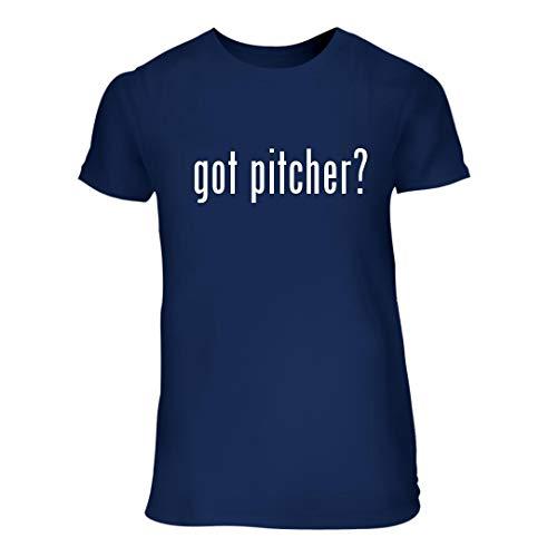got Pitcher? - A Nice Junior Cut Women's Short Sleeve T-Shirt, Blue, Large
