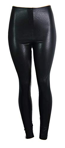 commando Women's Perfect Control Faux Leather Leggings, Black, -
