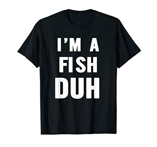Easy Halloween Fish Costume Shirt for Men Women Kids]()