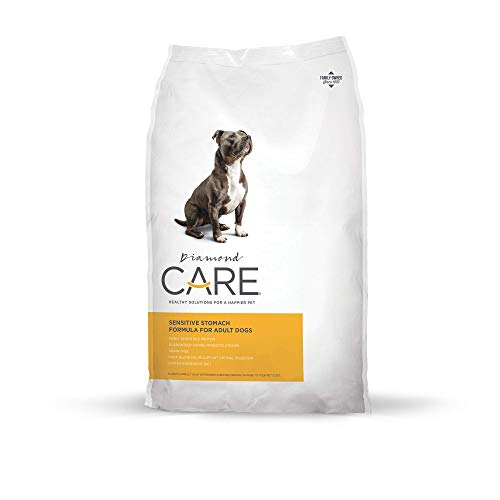 Diamond CARE Sensitive Stomach Recipe Specially Made As A Limited Ingredient Diet To Support Dogs With Sensitive Stomach And Digestive Issues