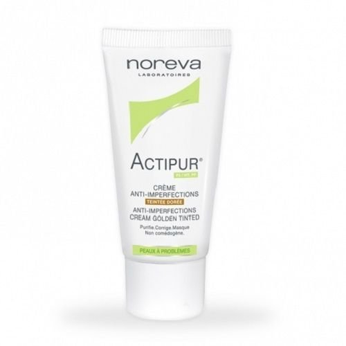 Crema anti-imperfecciones de Noreva Actipur teñida de Dore (oro) 30 ml piel Capital