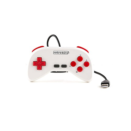 Retro-Bit Super Retro-Cade Plug and Play Game Console - Packed with Over 90 Popular Arcade and Console Titles (Red/White) - Not Machine Specific