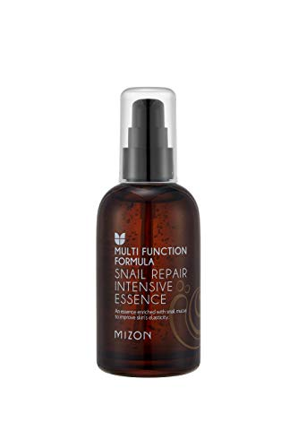 Mizon Snail Repair Intensive Care Line, Snail Facial Essence 3.38 fl oz, Korean Skincare, Improves Skin Tone and Fine Wrinkles, Smooth Skin - Line Intensive