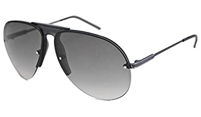 Amazon.com: Gucci 2200/S lead Dark Ruthenium WXK AE 62 x 12 ...