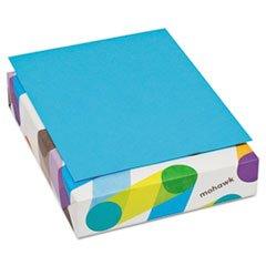 ** BriteHue Multipurpose Colored Paper, 20lb, 8-1/2 x 11, Blue, 500 Shts/Rm **