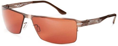 VedaloHD Bologna 8084 Rectangular Sunglasses,Bronze,60 - Sunglasses Vedalohd