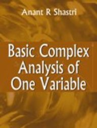 Download Basic Complex Analysis of One Variable ebook
