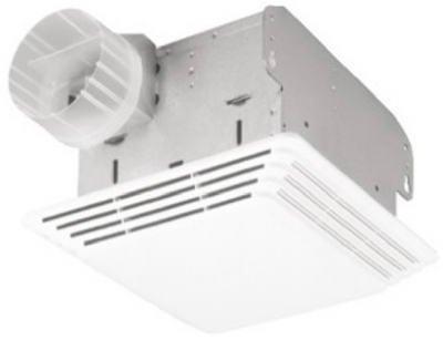 Broan Bath Fan & Light Combo 678, 1 ea