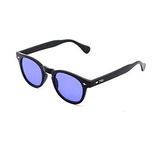 Gafas Negro Viola LOCKE sol degradadas mujer hombre de TWIG rf7Uwxqr