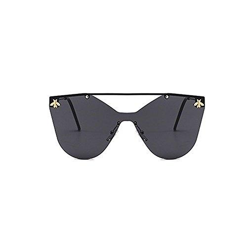 con de Retro sol sol pieza estilo para retro sol mujer estilo gafas de de abeja gato de montura de de gafas decration sol esqu de Ojos Gafas de gafas único sol una de de sin gafas gafas personalidad rrwfIxa