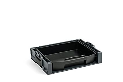 Bosch Sortimo i-rack Activo Anthracite equipado con cajón - LS 72 NEGRO / CAJA