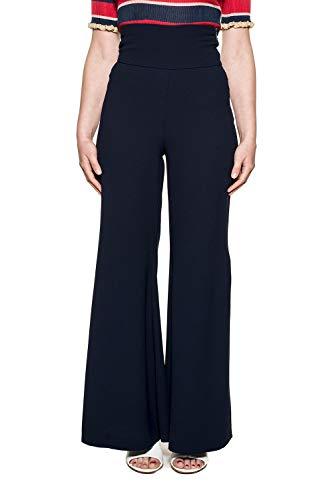 Pantalon Femme Bleu 1b12z24575f95 Coton Pinko xXqOw1Z1